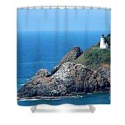 Cape Mears Lighthouse Shower Curtain