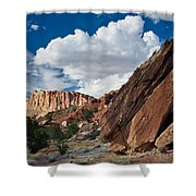 Capitol Reef Rock Shower Curtain