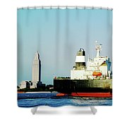 Capitol View Mississippi River Shower Curtain