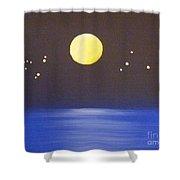 Capricorn And Libra Shower Curtain