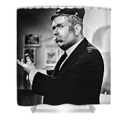 Captain Kangaroo, C1955 Shower Curtain by Granger