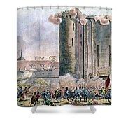 Capture Of The Bastille Shower Curtain