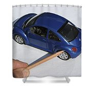 Car Bought From Faa Sales Shower Curtain