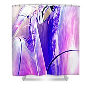 Car Reflections Shower Curtain