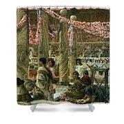 Caracalla And Geta Shower Curtain