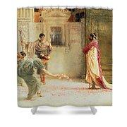 Caracalla Shower Curtain by Sir Lawrence Alma-Tadema