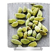 Cardamom Seed Pods Shower Curtain