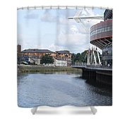 Cardiff In Wales Shower Curtain