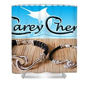 Carey Chen Jewelry Shower Curtain