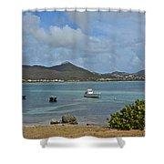 Caribbean Cove Shower Curtain