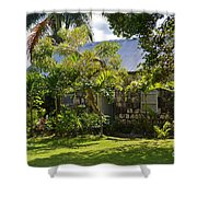 Caribbean Garden Shower Curtain
