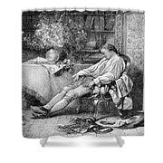Carl Linnaeus, Swedish Botanist Shower Curtain