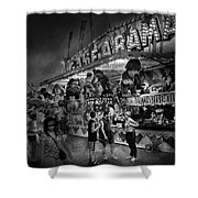 Carnival - Game-a-rama Shower Curtain by Mike Savad