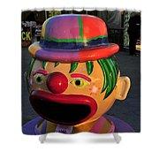 Carnival Clown Shower Curtain