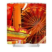 Carnival Lights  Shower Curtain