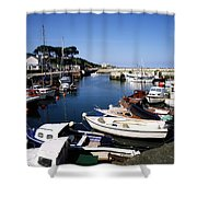 Carnlough, Co. Antrim, Ireland Shower Curtain