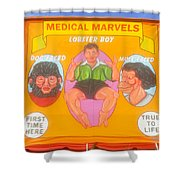 Carnval Art Number 2 Shower Curtain