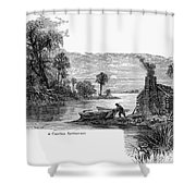 Carolina Settlement Shower Curtain