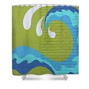 Carolina Wave Shower Curtain