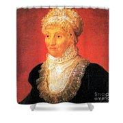 Caroline Herschel, German-british Shower Curtain