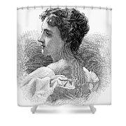 Caroline Lavinia Harrison Shower Curtain by Granger