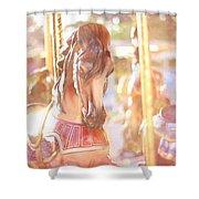 Carousel Dream Shower Curtain