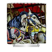 Carousel Horse 6 Shower Curtain