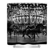Carousel Work Number One Shower Curtain