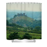 Carreg Cennen Castle Shower Curtain
