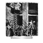 Carriage Cartoon, 1776 Shower Curtain