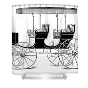 Carriage: Surrey Shower Curtain