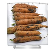 Carrots Shower Curtain