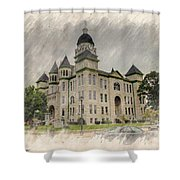 Carthage Courthouse Shower Curtain