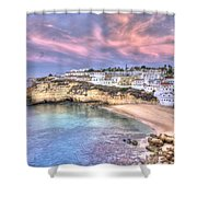 Carvoeiro Early Morning Shower Curtain