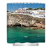 Carvoeiro Panorama Shower Curtain