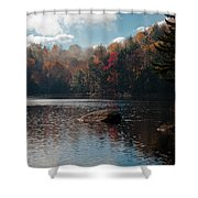 Cary Lake In The Adirondacks Shower Curtain