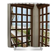 Casa Del Laplaya Shower Curtain