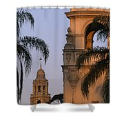 Casa Del Prado Theatre In Balboa Park Shower Curtain