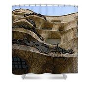 Casa Mila Barcelona Shower Curtain