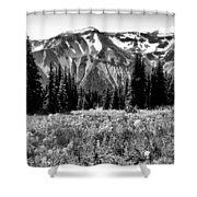 Cascade Mountain Range Shower Curtain