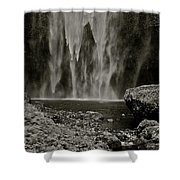 Cascade's End Shower Curtain