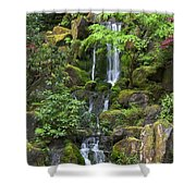 Cascading Waters Shower Curtain