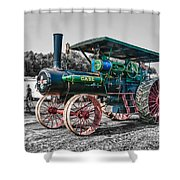 Case Tractor Shower Curtain