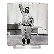 Casey Stengel (1891-1975) Shower Curtain
