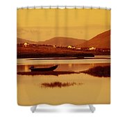 Cashel, Achill Island, County Mayo Shower Curtain