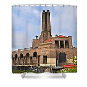 Casino Building Shower Curtain