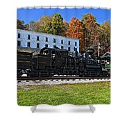 Cass Railway Wv Painted Shower Curtain