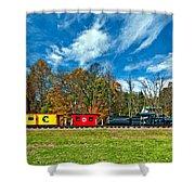 Cass Scenic Railroad Shower Curtain
