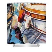 Cassis Castaways Shower Curtain