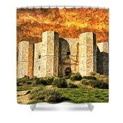 Castel Del Monte Shower Curtain